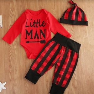 """Other - """"LIttle man"""" outfit 18-24 mo."""
